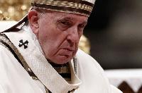 Le Pape s'est excusé pour son geste