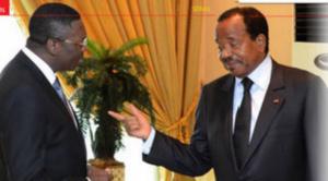 Ferdinand Ngoh Ngoh, SG de la présidence et Paul Biya