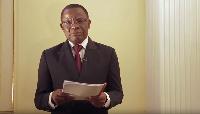 Maurice Kamto s'est prêté  à l'exercice de sensibilisation des camerounais à la pandémie du Covid 19