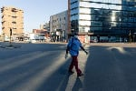 Harare's central business district emptied out when lockdown began at the end of March