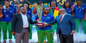 Les Lionnes sacrées championne d'Afrique
