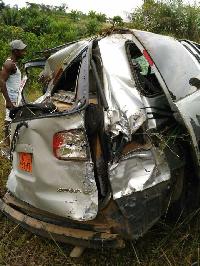 L'accident s'est produit sur la route de Buea.