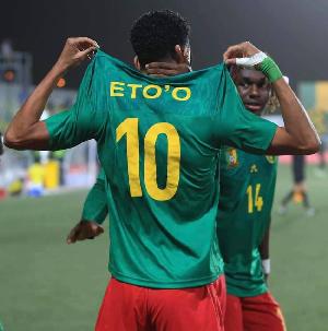 Etienne Eto'o a participe à la CAN U20