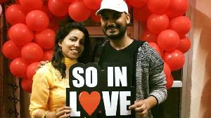 Esha et son mari Rahul