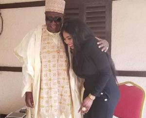 Lady Ponce et le roi Mbombo Njoya