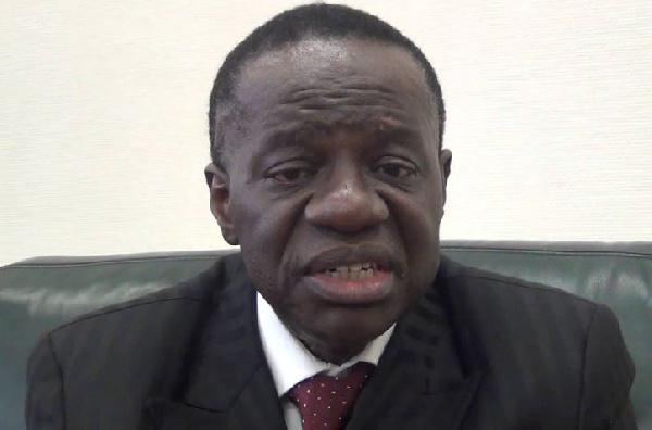 Fame Ndongo , ministre des Enseignements supérieurs
