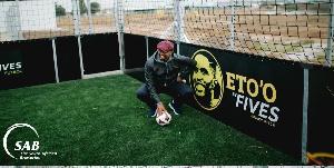 Samuel Eto'o en Afrique du Sud