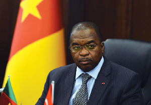 Paul Motaze, ministre de la finance