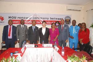 Douala Et Huawei