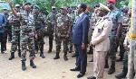 Il est dans la région de l'Adamaoua pour une visite de travail de deux jours
