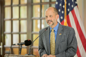 Le Nouvel Ambassadeur américain Christopher John Lamora au Cameroun