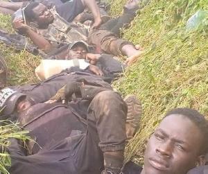 Les soldats tombés dans une embuscade