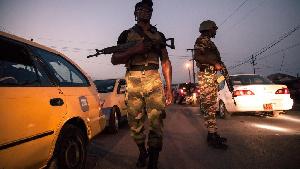 Patrouille des forces de police (archives)