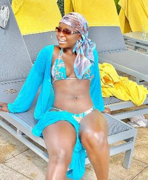 Daphné, artiste camerounaise