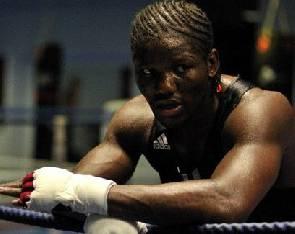 Le boxeur camerounais Hassan Ndam
