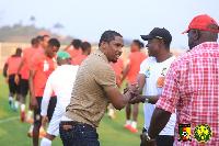 Samuel Eto'o au stade annexe d'Olembe, 14 janvier 2021