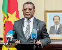 Dion Ngute, le premier ministre camerounais