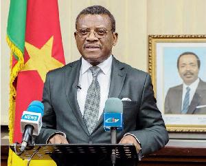 Dion Ngute, premier ministre camerounais