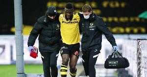 Jean-Pierre Nsamé  souffre d'une déchirure du tendon d'Achille