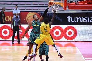 Kenneth Kadji AfroBasket 2015 Vs Mali