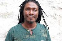 L'auteur camerounais Edouard Elvis Bvouma