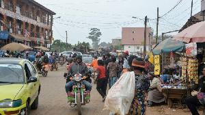 Dans un quartier de Yaoundé