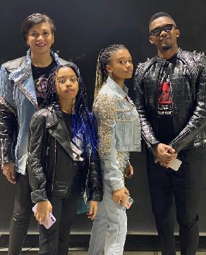 Eto'o et sa famille