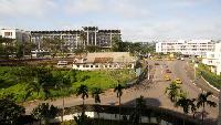 Dans le centre-ville de Yaoundé
