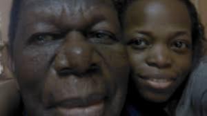 Nadia Fotso et son père