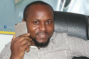Aristide Bounah, le patron Afrik-inform