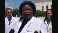 Dr Stella Gwandiku-Ambe et sa bande de médecins en grogne contre le pouvoir américain