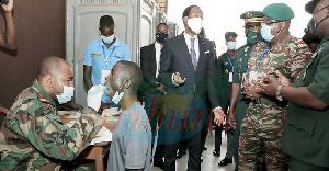 Joseph Beti Assomo est allé s'enquérir de la situation sur le site du stade Omnisports de Yaoundé