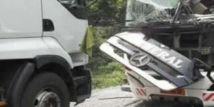 Vue d'une scène d'accident (illustration)