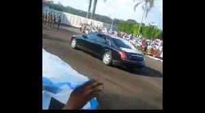 La voiture de Biya tombée en panne