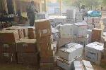 Des cartons de produits pharmaceutiques de la contrebande saisis au nord du Cameroun
