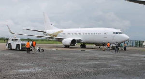 Camair-co réceptionne le boeing 737 ukrainien