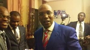 Le minsitre de la Santé, Dr Malachie Manaouda