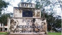 Dans le centre-ville de Bafia