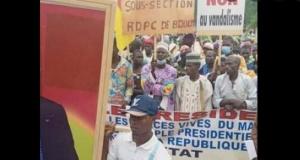 Manifestation du RDPC (illustration)