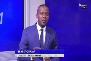 Ernest Obama a lancé sa nouvelle télé ce 15 janvier