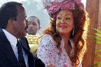 Paul et Chantal Biya