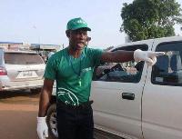 Ousmane Sawadogo est considéré comme un justicier de la route