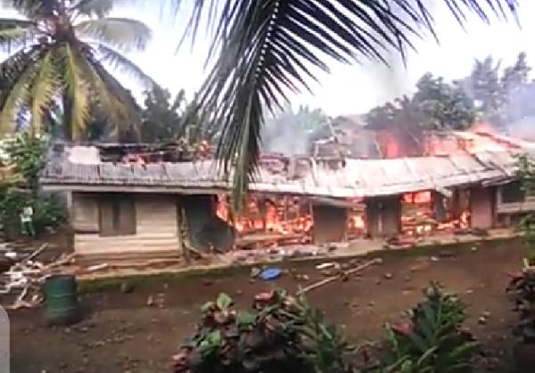 UREGENT : encore un village incendié dans le Sud-Ouest