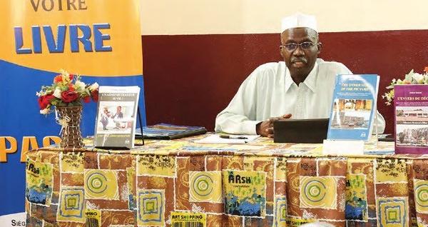 L'administrateur civil à la retraite a présenté trois ouvrages.