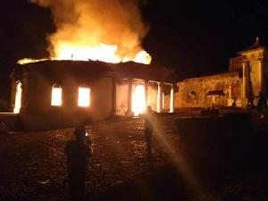 La Chapelle Royale de Milot (patrimoine culturel) ravagé par le feu
