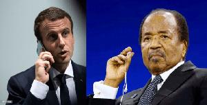Macron Appelle Biya
