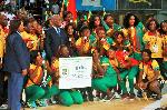 La fédération camerounaise de handball a effectué mardi dernier le déplacement d'Abidjan