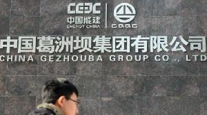 China Gezhouba Construction Barrage Chollet