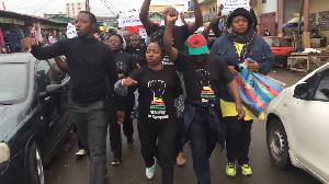 Arrêté après une réunion de son mouvement à Douala