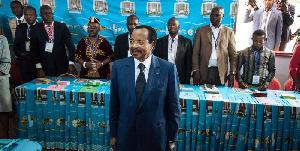 Paul Biya le jour de l